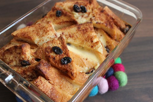 Bread and butter pudding2