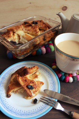 Bread and butter pudding4