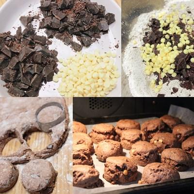 Triple Chocolate Scones3