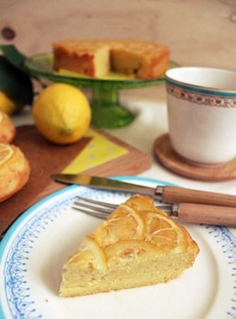 lemon upside-down cake6