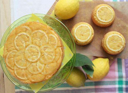 lemon upside-down cake7