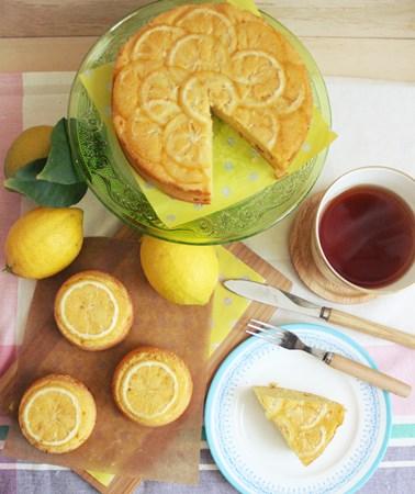 lemon upside-down cake8