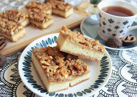 Caramel Walnut Bars6