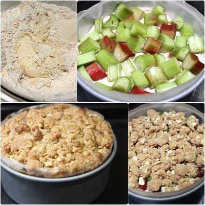 Rhubarb Crumble Cake9